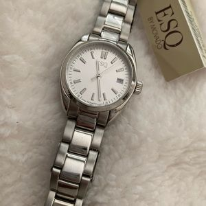 ESQ by Movado stainless steel women's watch